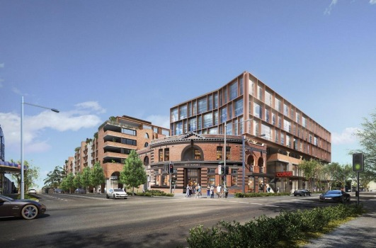 Studio Prineas, SJB win Surry Hills Shopping Village design competition