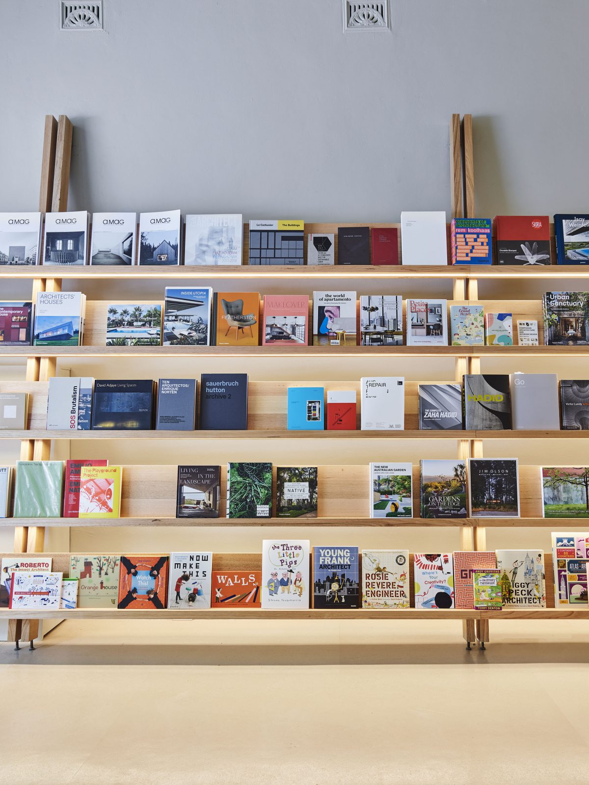 The Architect's Bookshop: Sydney's newest destination for design lovers