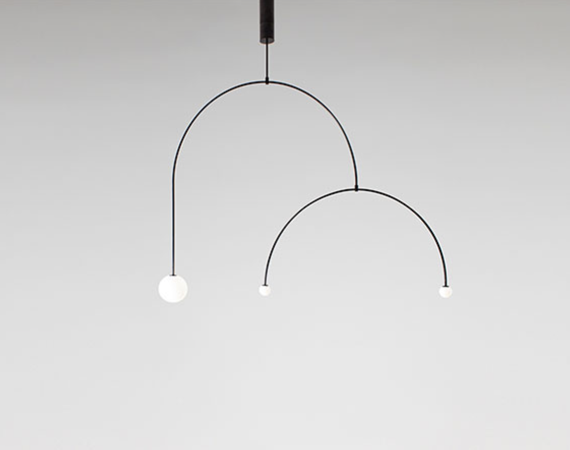 Mobile Chandeliers by Michael Anastassiades
